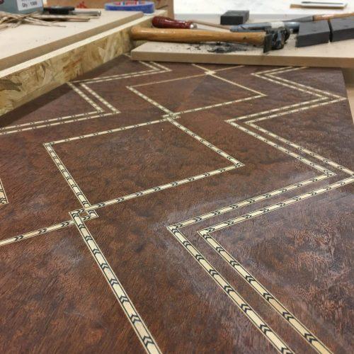Inlays in furniture design