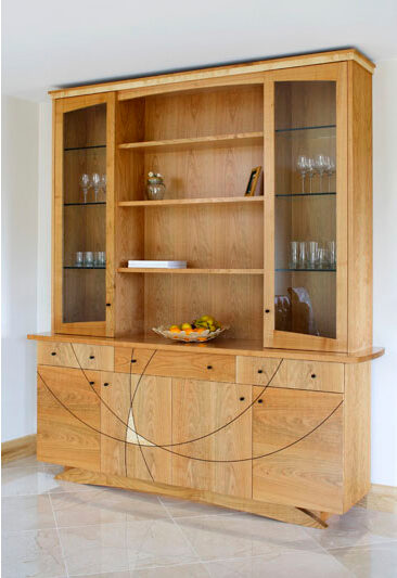 Kitchen Cabinet - simple and elegant - inlay detail