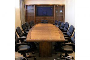 Boardroom - Walnut & Burr Walnut