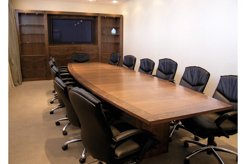 Boardroom Suite - seats 14- Walnut