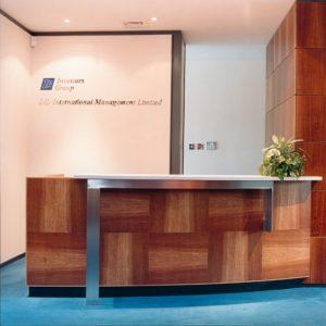 Reception Desk Design from Klimmek Furniture