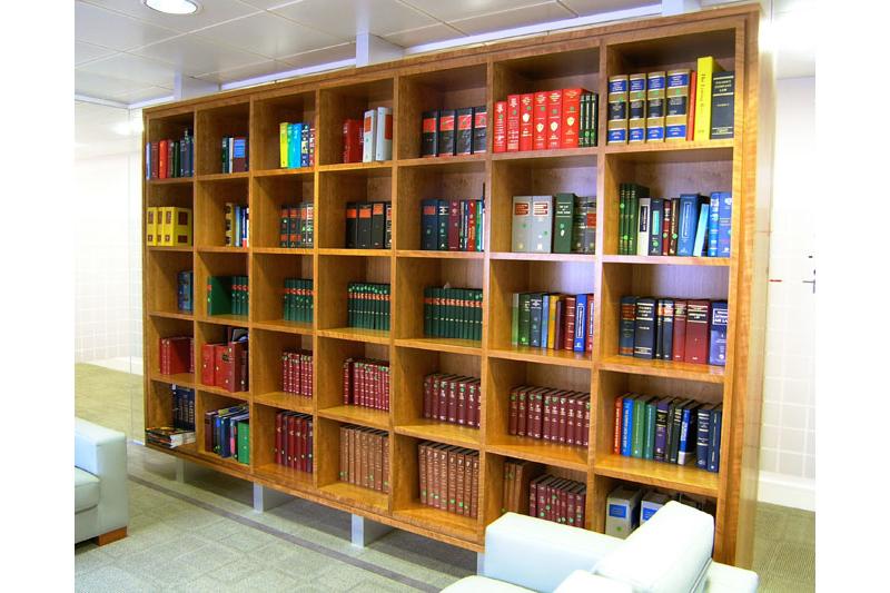 Shelving- Bookcase - Bespoke - handmade- Cherry & Elm