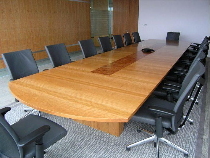 Cherry Elm Meeting Table Bespoke