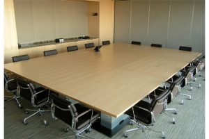 Modular tables - multi-function - corporate- linked tables-