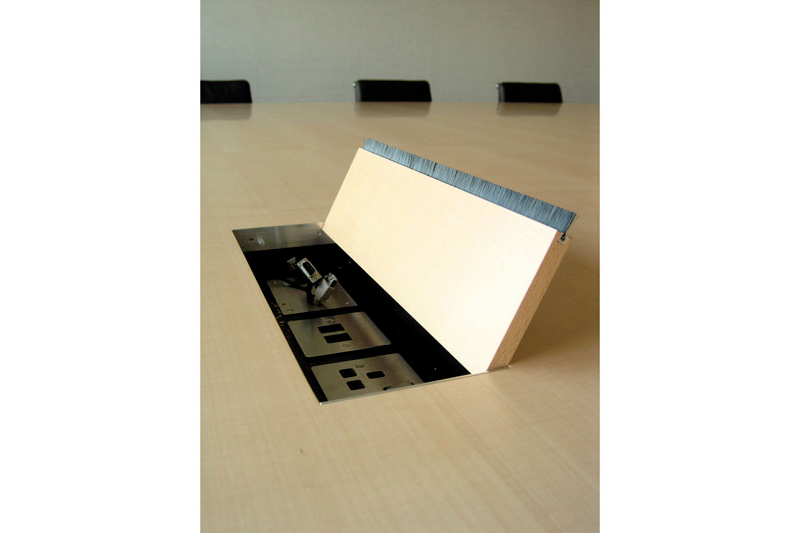 boardroom table - detail - popup data-point