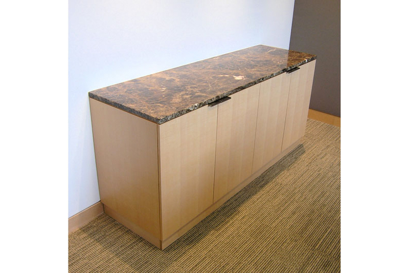 Sideboard Sycamore stone storage
