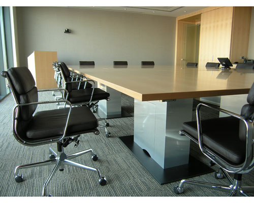 Modular meeting tables. Bespoke and made in Ireland