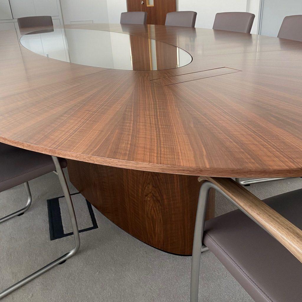 Bespoke Boardroom Table from Klimmek Furniture