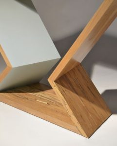 Console Table - Native Timber - Painted details - Modern and functional
