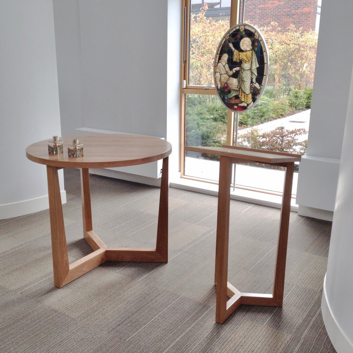 Church Furniture- Solid Oak - Simple Minimalist Handcrafted