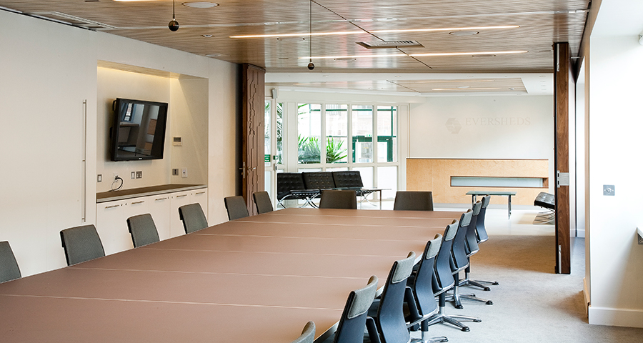 Boardroom Table & Cabinets