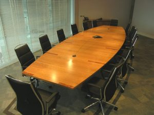 Cherry boardroom Table - Seats 14- Bespoke design -made in Ireland