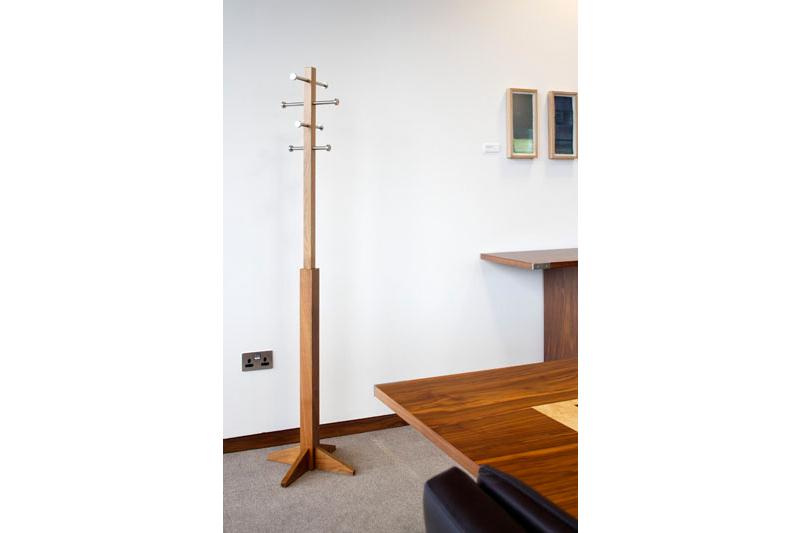 Elegant Coat-stand Solid Walnut - Made in Ireland