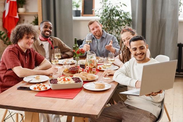 Virtual Dinner Parties