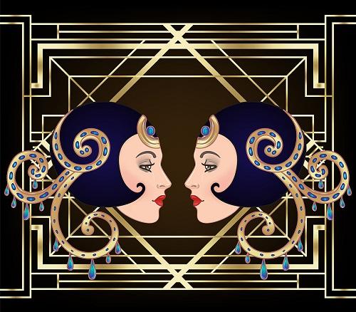 Female Art Deco Style