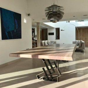 Dining Table Custom Made by Klimmek Furniture