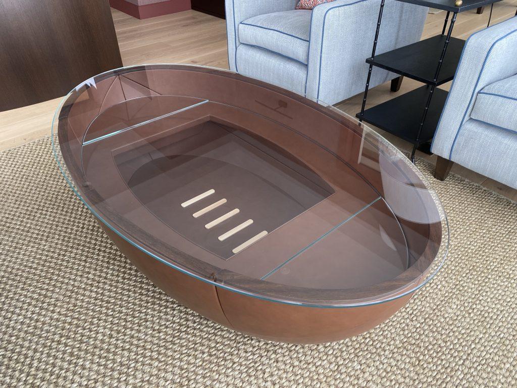 Rugby Table Designed by Klimmek Furniture
